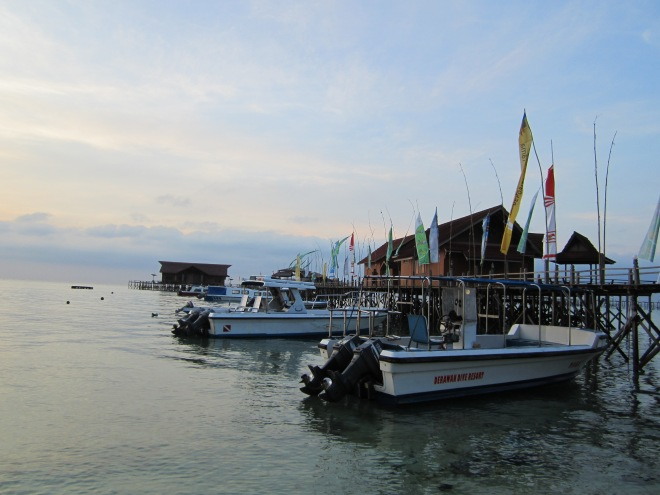 Morning in Derawan