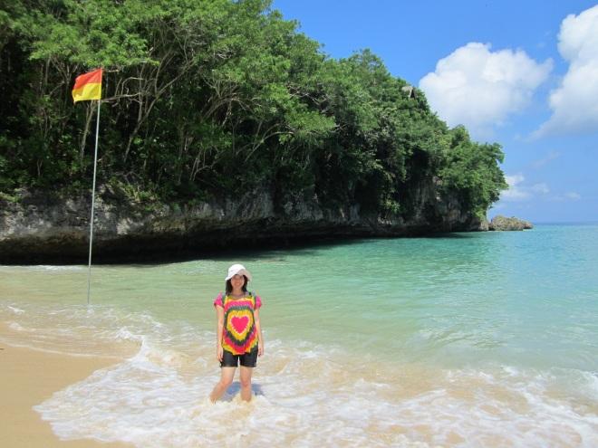 @Padang padang beach